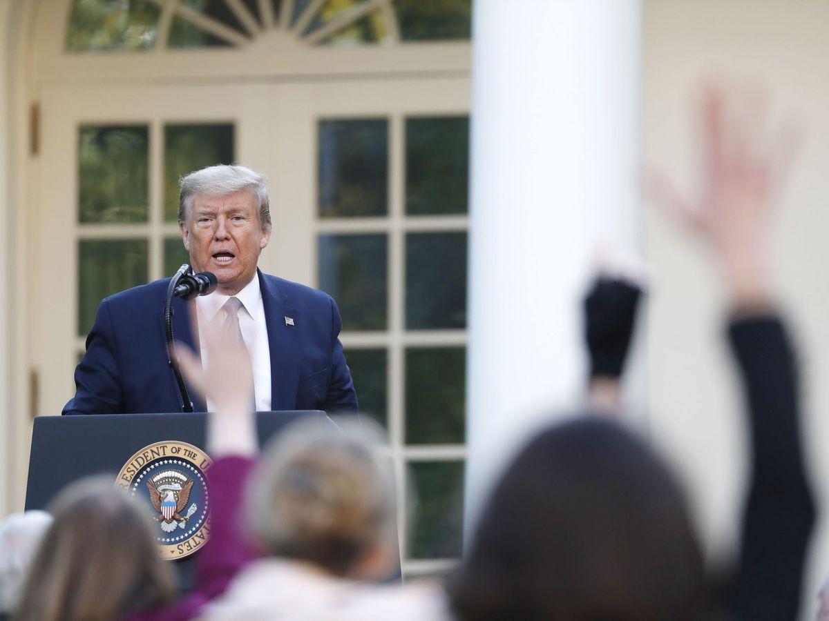 Foto: El presidente de EEUU, Donald Trump. (EFE)