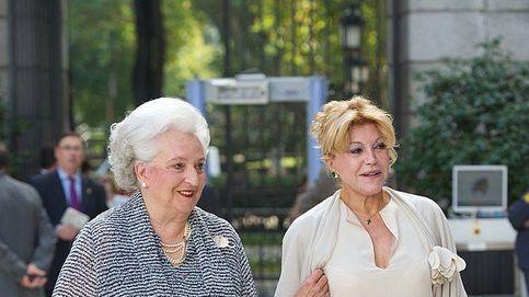 """Tita Cervera, ausente en el funeral de su amiga Pilar de Borbón: no quiso """"molestar"""""""