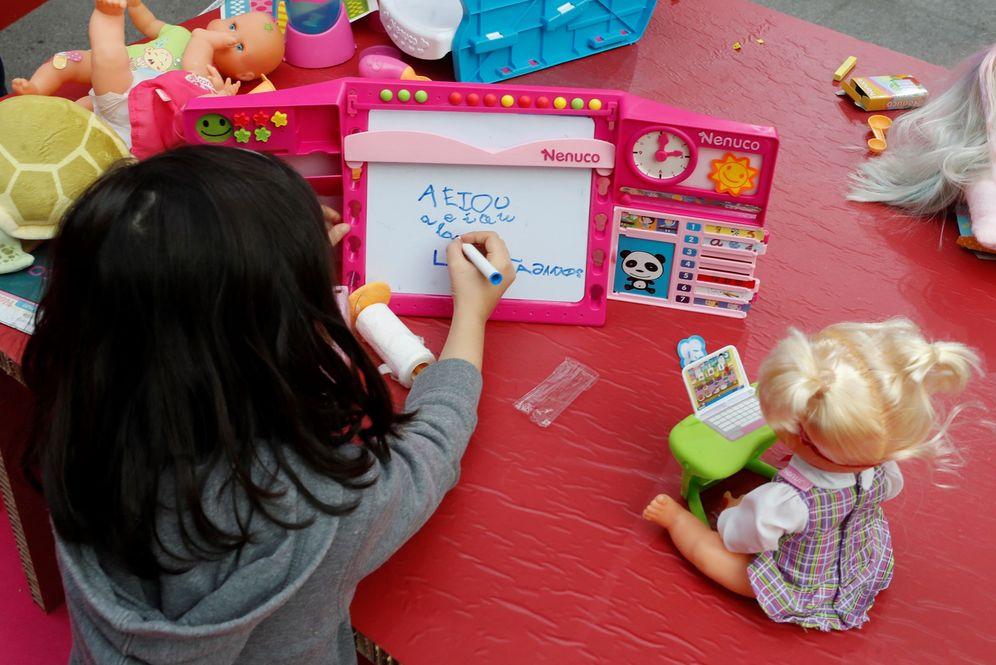 Foto: Cambio de tendencia en la venta de juguetes. (EFE)
