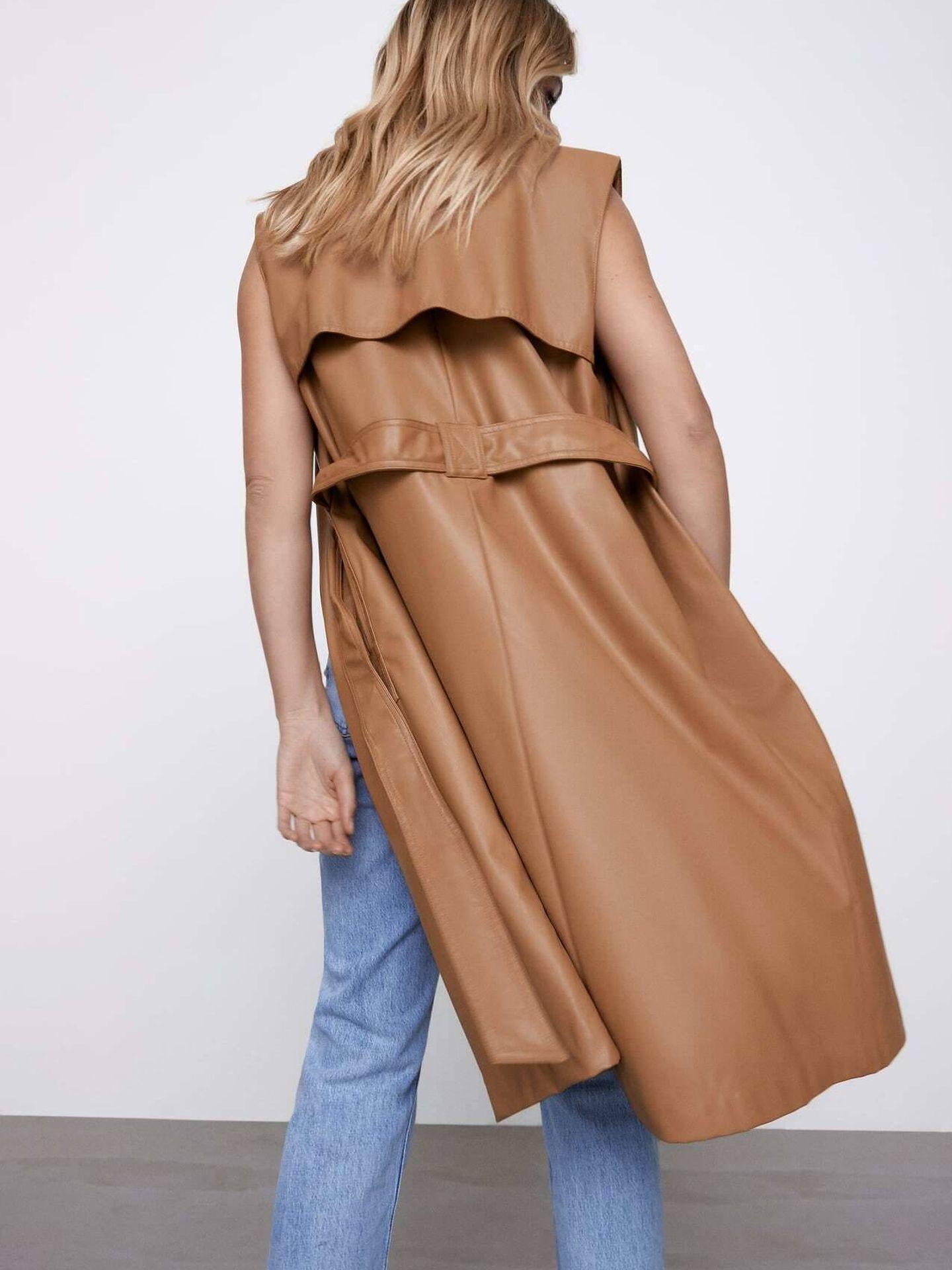 Un chaleco de Zara. (Cortesía)