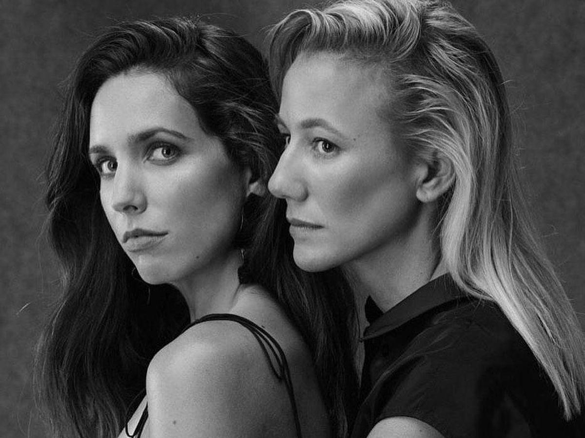 Foto: Carlota Redón y María Juncadella, en una campaña de The2ndskinco. (Redes sociales)