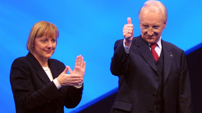 Angela Merkel, en una imagen de 2001. (Getty)