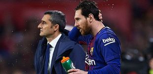 Post de Por qué Messi no le tuerce el morro a Valverde cuando le deja sin jugar