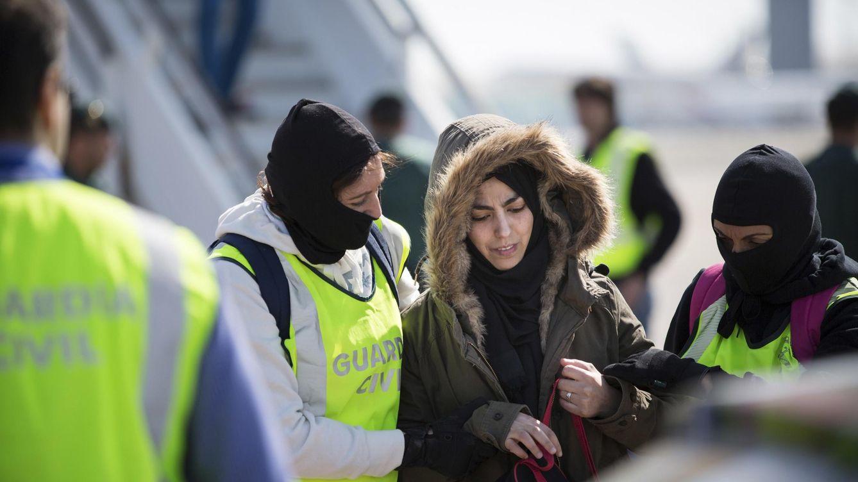 Foto: Imagen del momento de la detención de Samir Yerou (Reuters)