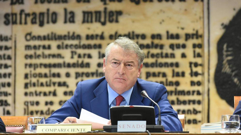 Foto: El presidente de RTVE, José Antonio Sánchez. (EFE)
