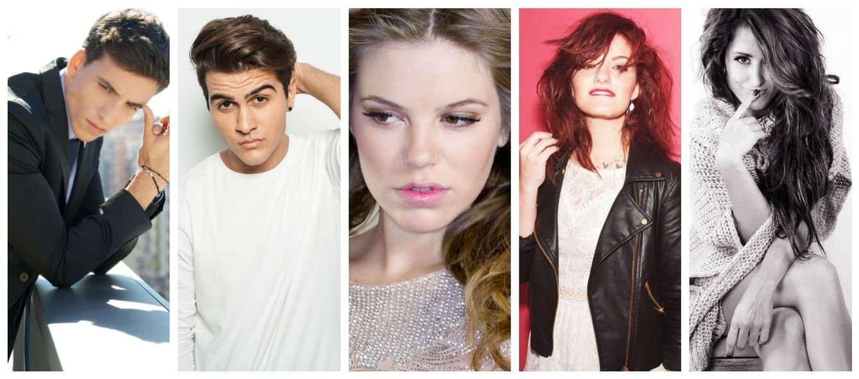 Foto: Candidatos a Eurovision
