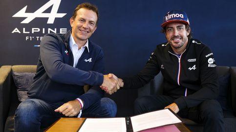 El contrato 'cholista' de Alpine F1 y Fernando Alonso: 'Carrera a Carrera'