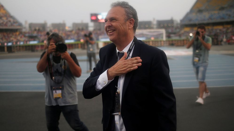Foto: Joaquín Caparrós volvió al Sevilla en abril de este año. (Reuters)