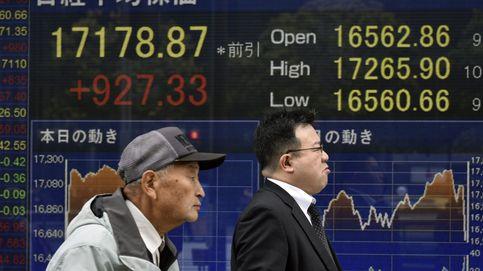 La Bolsa de Tokio se dispara un 6,72% tras el buen cierre de Wall Street
