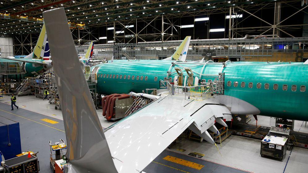 Foto: Un modelo de 737 MAX. (Reuters)