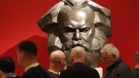 Exhibición de Karl Marx en San Petesburgo
