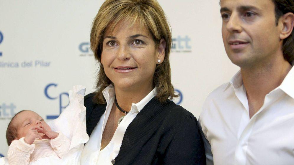 Foto: Arantxa, junto a su marido, Josep Santacana. (EFE)