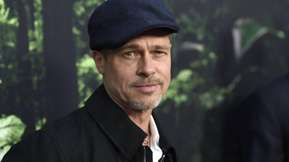 Foto: El actor Brad Pitt a principios del mes de abril. (Gtres)