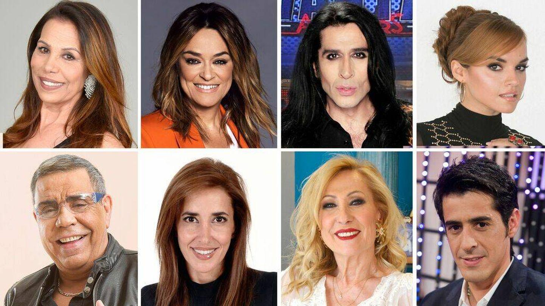 Nuevos famosos de 'Los miedos de...'. (Mediaset)