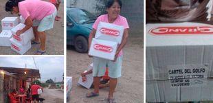 Post de Narcos y sicarios reparten comida a familias que sufren por el coronavirus
