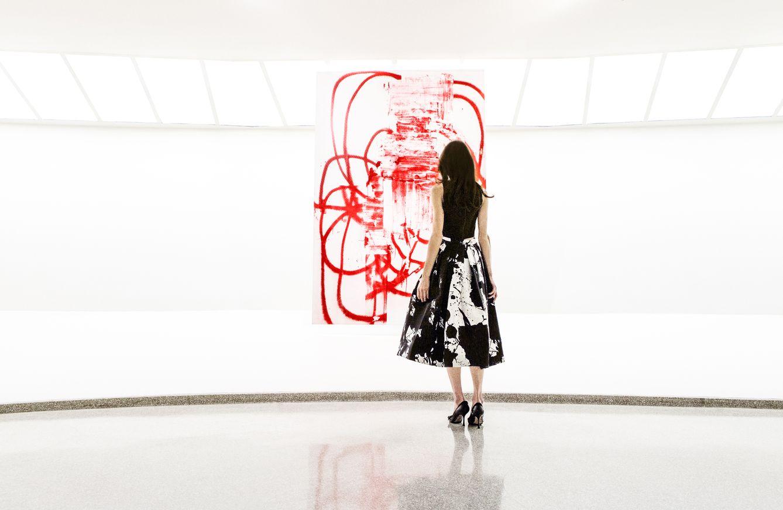 Foto: Paridust: la bloguera que se viste a juego de sus obras de arte favoritas