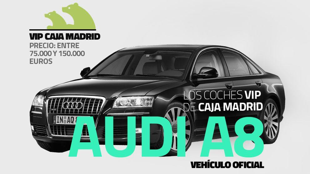 Los titulares de las tarjetas tenían coches de lujo de Caja Madrid