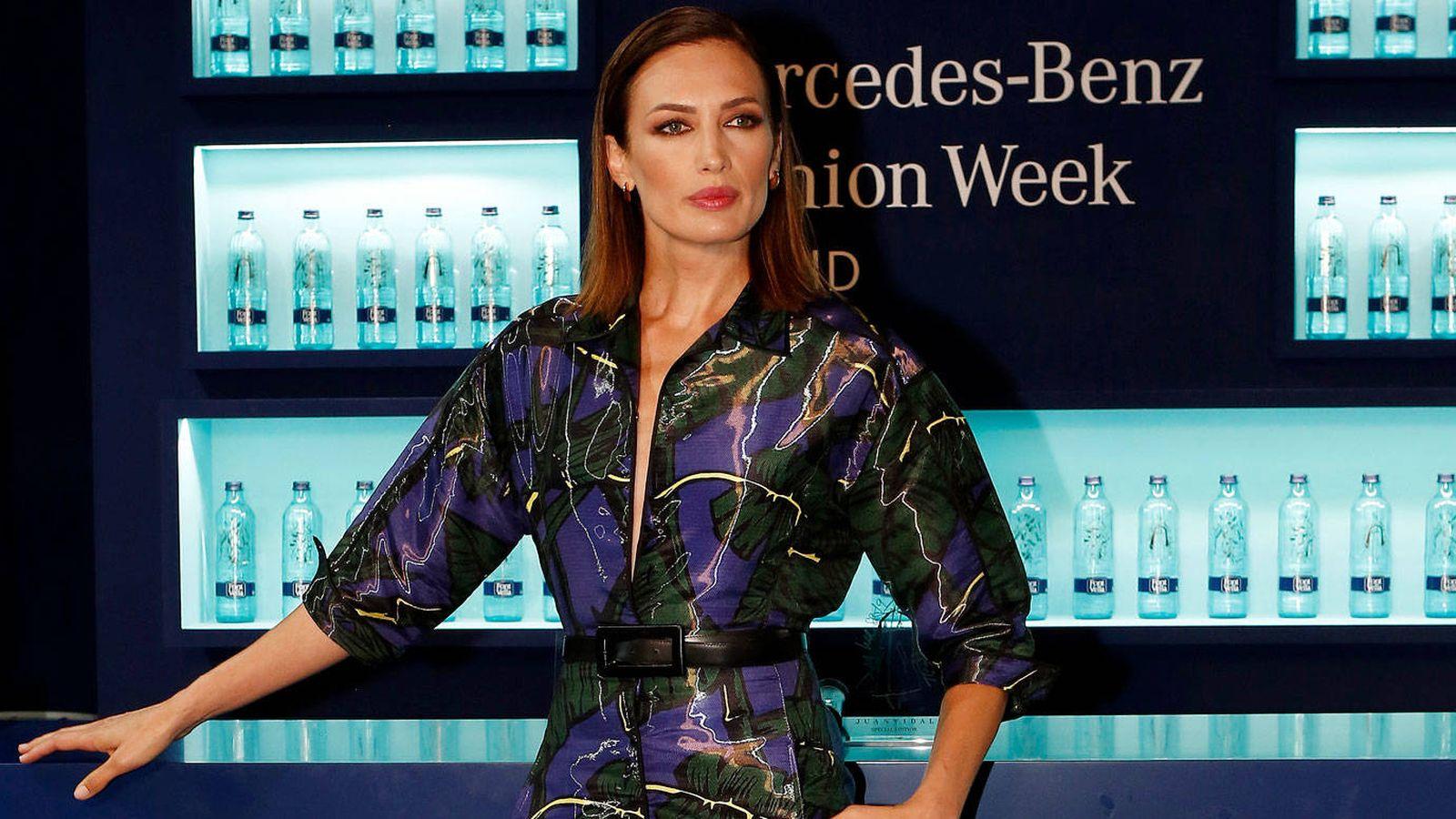 Mercedes-Benz Fashion Week Madrid  Nieves Álvarez  No hace falta  disfrazarse para venir a ver un desfile 3ef252b5d693