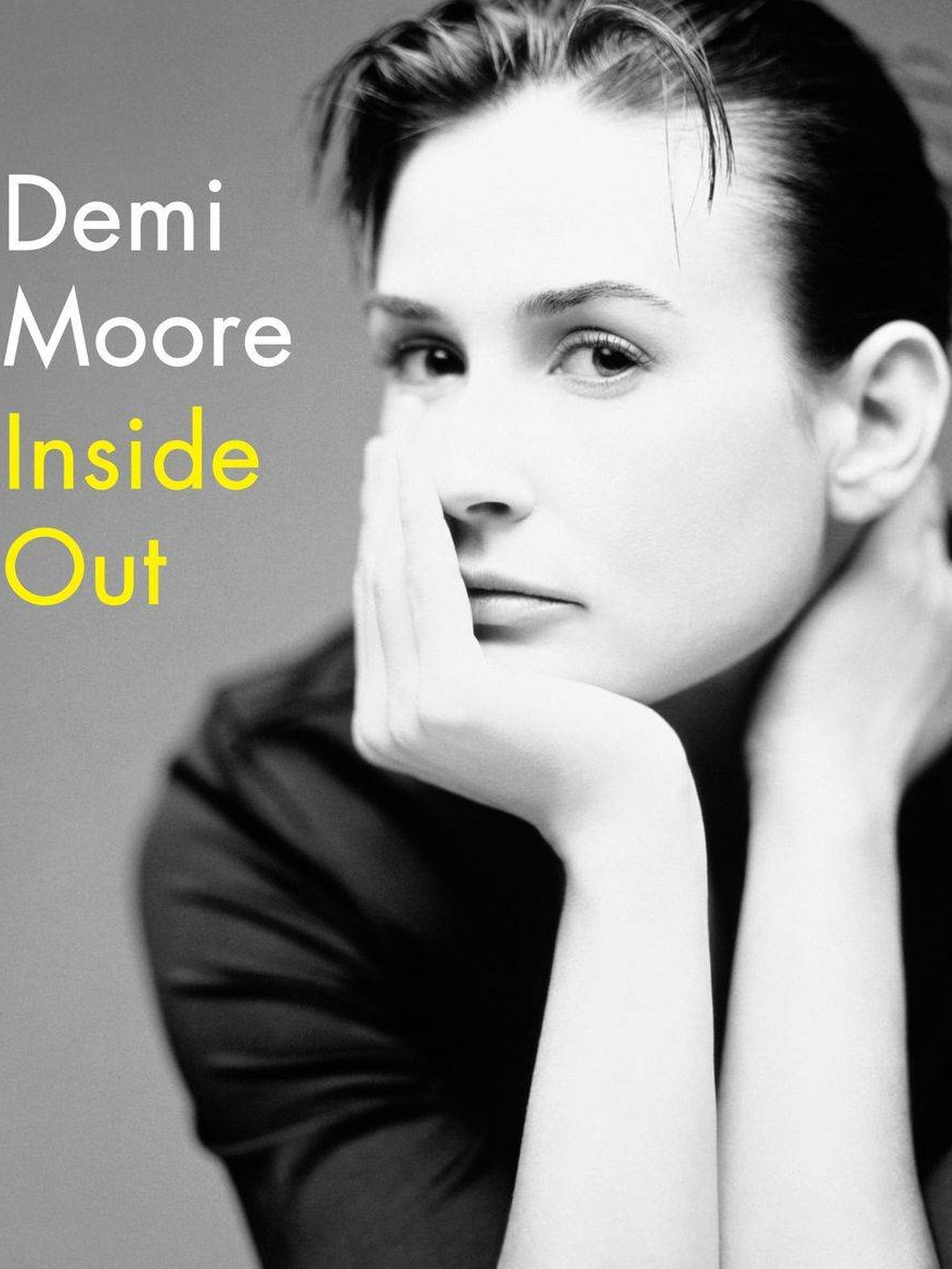La portada del libro de Demi Moore.
