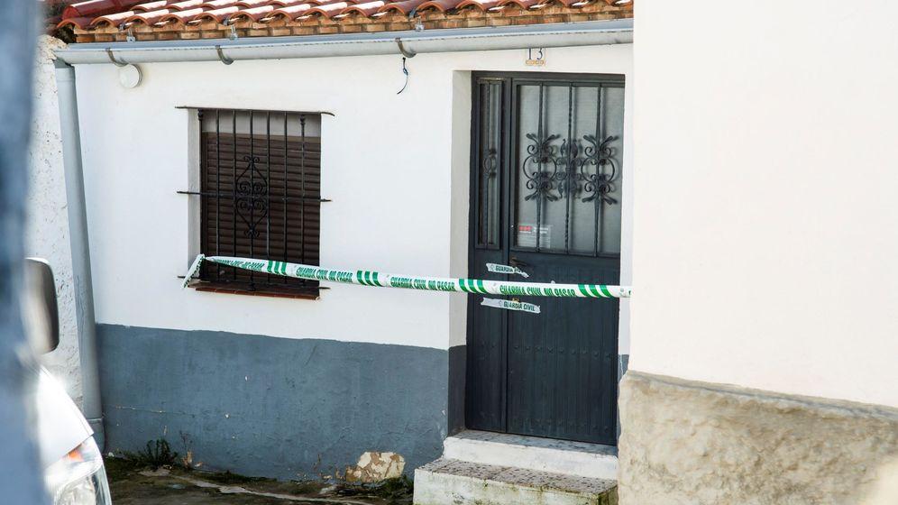 Foto: El domicilio del reincidente Bernardo Montoya en El Campillo (EFE)