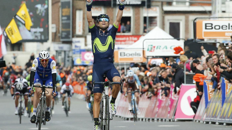 Alejandro Valverde ha ganado cuatro veces la Lieja-Bastoña-Lieja. (EFE)