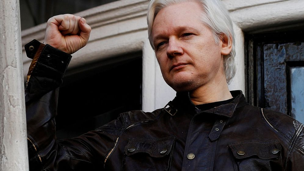 Foto: Julian Assange en 2017. (Reuters)