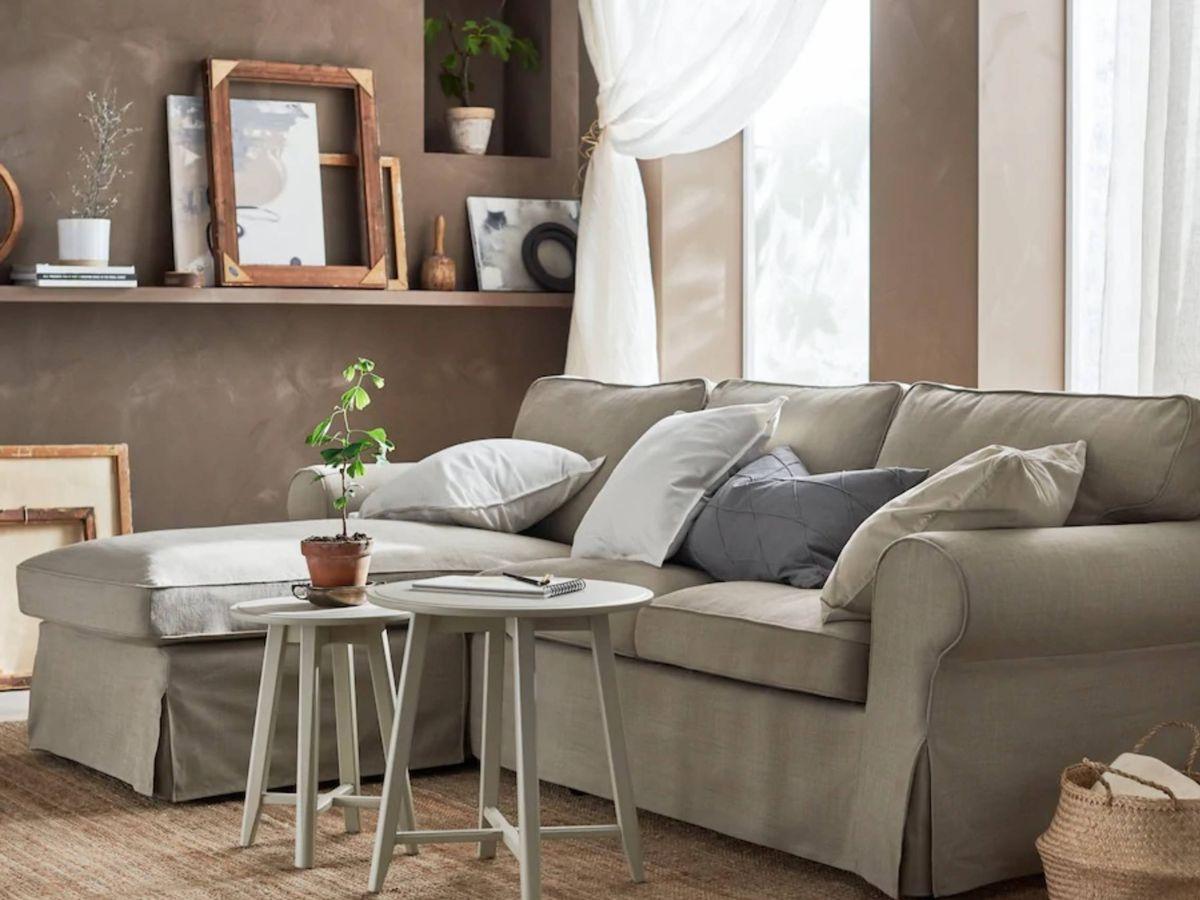 Foto: Ikea te ayuda a que tu salón parezca más grande. (Cortesía)