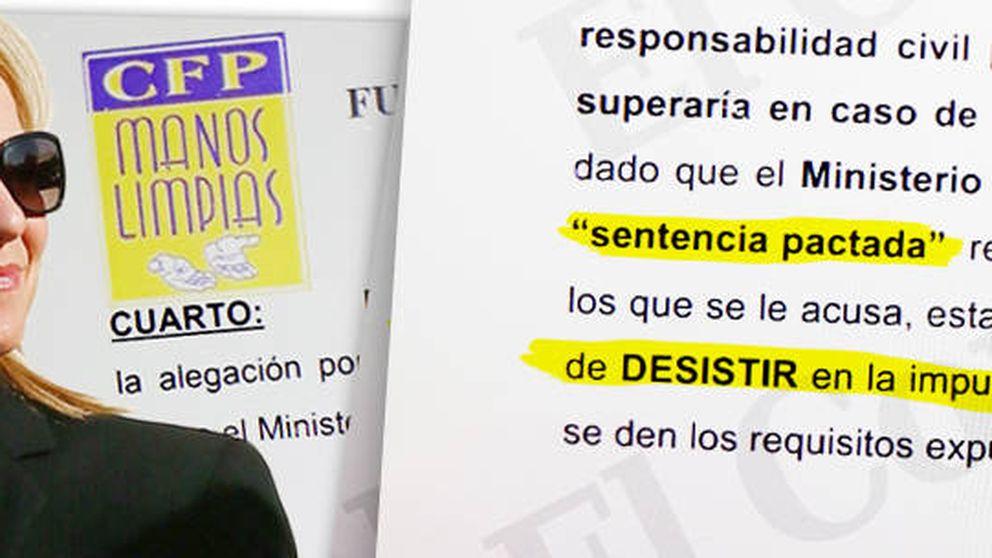 Manos Limpias ya tenía listo el escrito para solicitar la desimputación de la Infanta