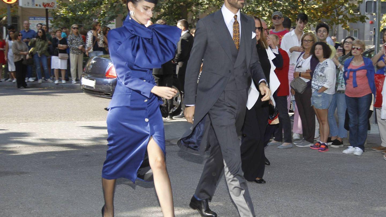Alejandra y Enrique, de boda. (Cordon Press)