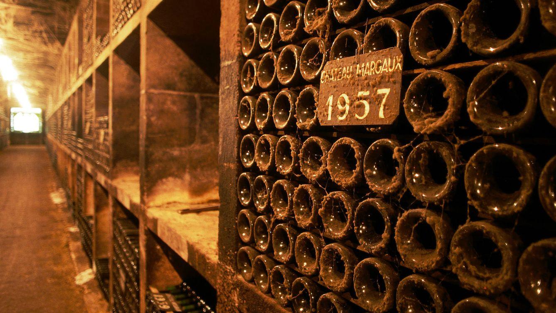 Foto: Un detalle de la bodega de Château Margaux, uno de los más  conocidos entre los mejores  productores de vino de Burdeos.