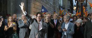 Foto: Mas pide silencio al empresariado catalán para no obstaculizar el proyecto soberanista