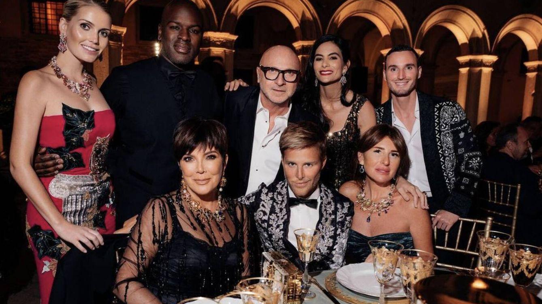 El desfile de famosos en los shows de Dolce & Gabbana no cesa