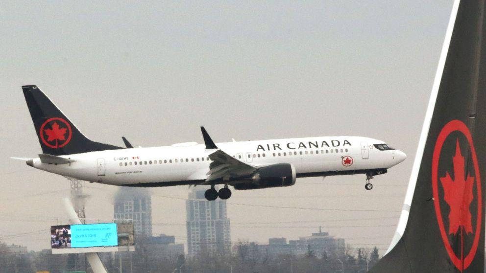 Air Canada amplía al 1 de julio la retirada de sus aviones Boeing 737 MAX