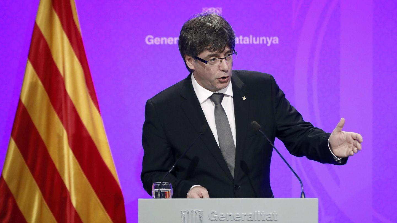 El presidente de la Generalitat de Cataluña, Carles Puigdemont. (EFE)