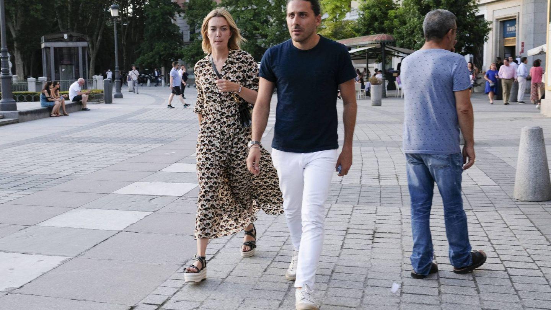 La pareja llegando al Teatro Real. (Getty)