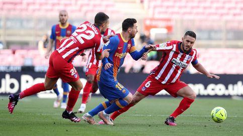 En directo LaLiga | El Atlético de Madrid asfixia al Barça con una doble ocasión