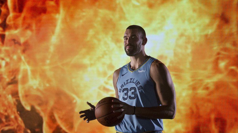 Foto: Marc Gasol comienza su undécima temporada en la NBA, todas en los Memphis Grizzlies. (EFE)