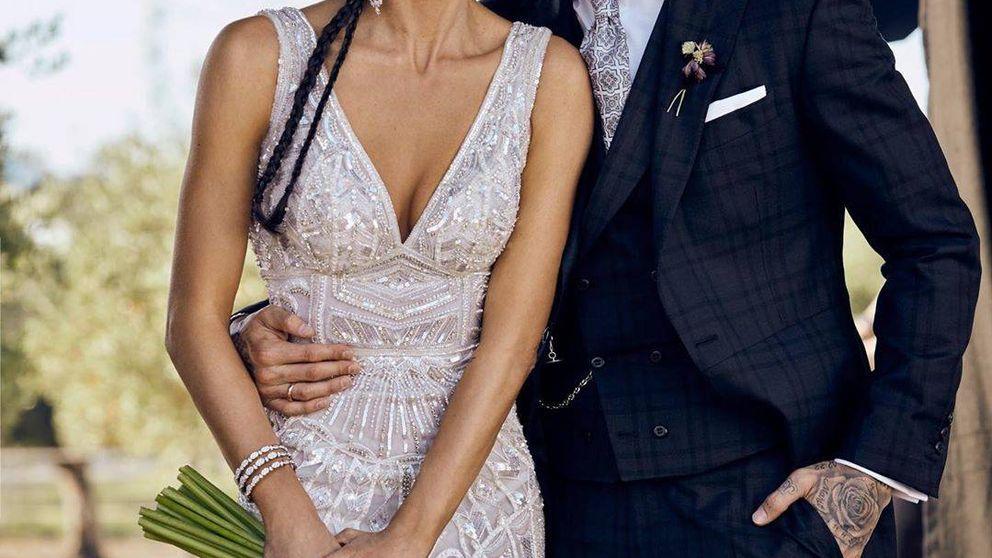 Pilar Rubio y Sergio Ramos comparten la primera foto 'oficial' de su boda
