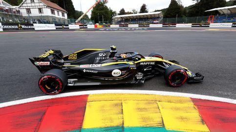 Un mazazo inesperado para Sainz en Spa: Creía que éramos el 10º o el 11º