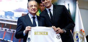 Post de Las lágrimas de Reinier en el Real Madrid y el talón de los 200 millones de euros