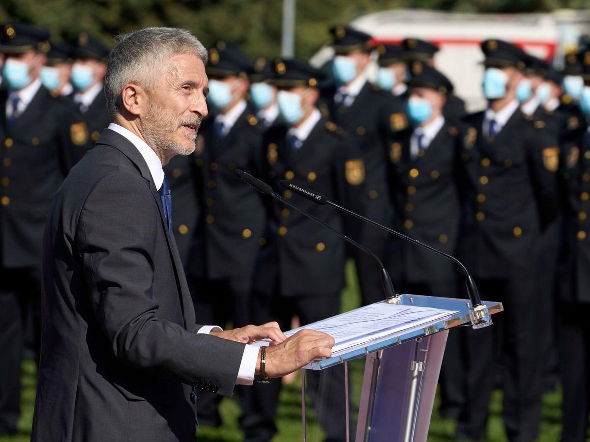 Foto: El ministro del Interior, Fernando Grande-Marlaska. (EFE)