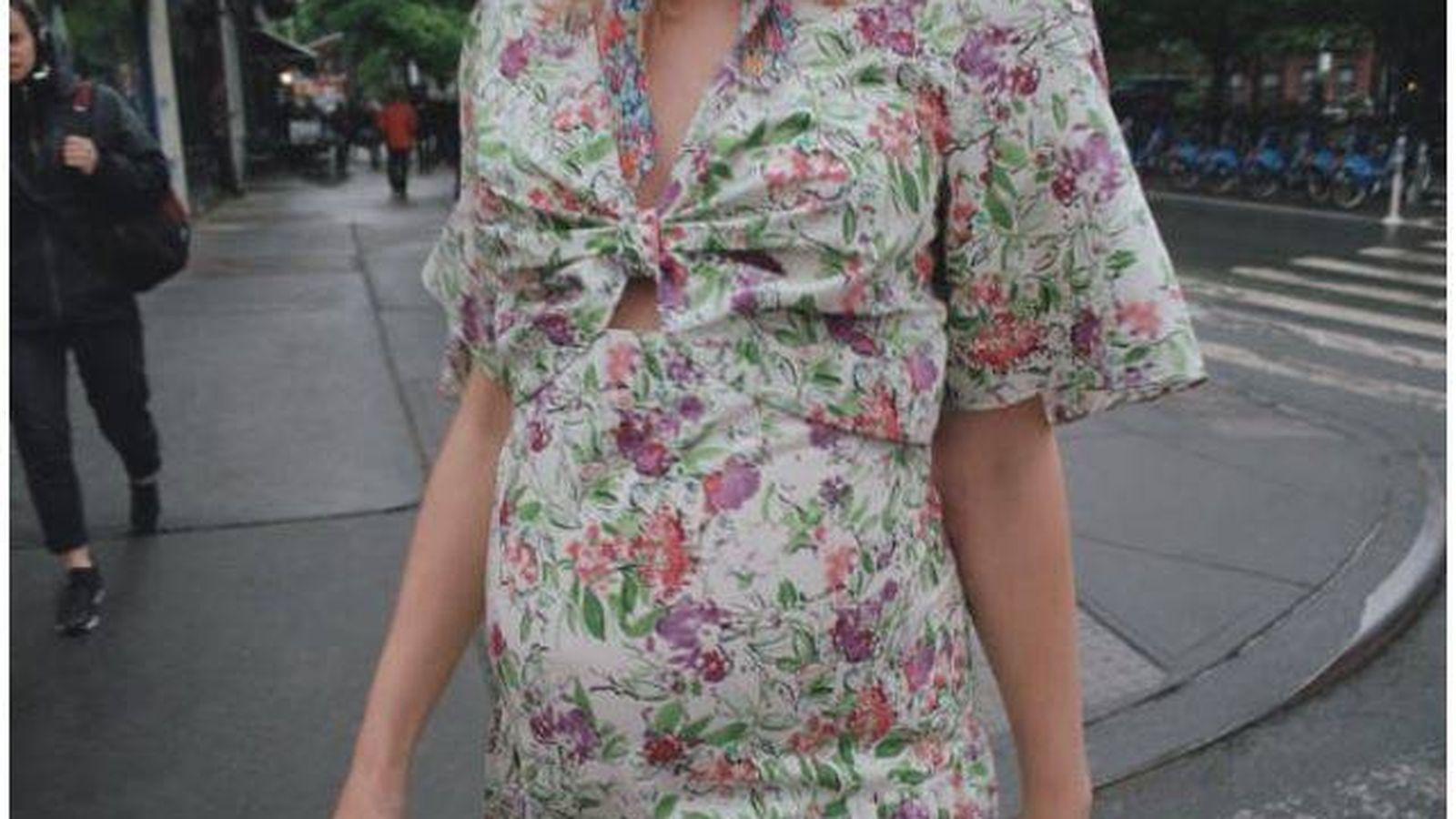 Foto: Vestido de la colección 'Mum' de Zara. (Cortesía)