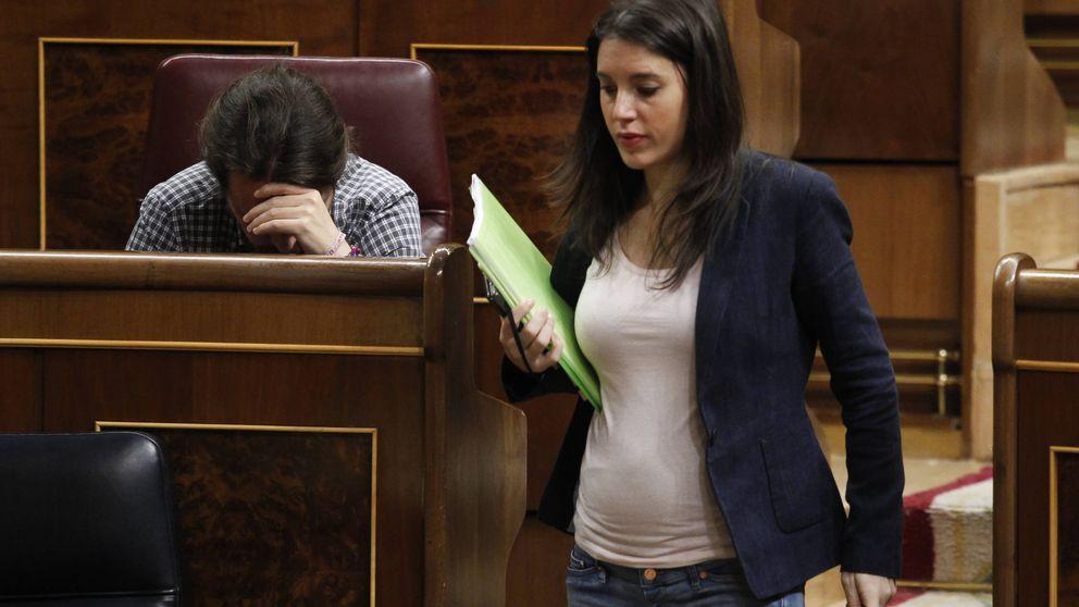 Irene Montero ya luce tripa de embarazada en el Congreso