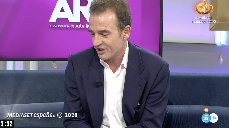 Alessandro, al final del programa. (Mediaset)
