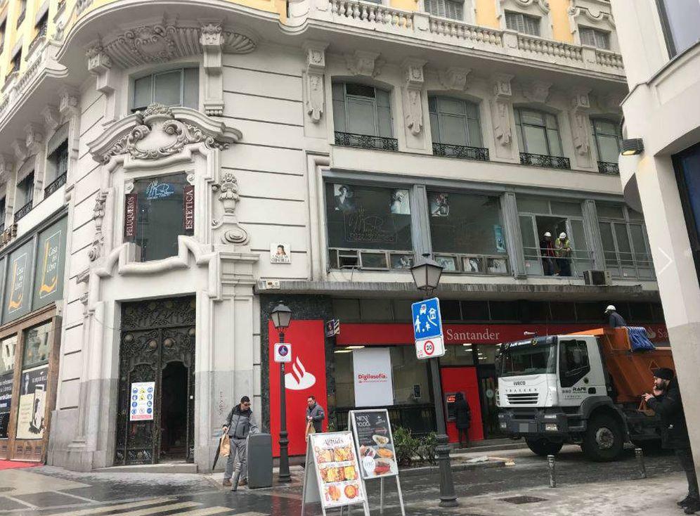 Foto: Las obras del hotel de Cristiano en la Gran Vía madrileña