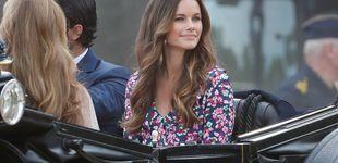 Post de El vestido de Sofía Hellqvist de 59 euros con el que homenajeó a su cuñada Victoria