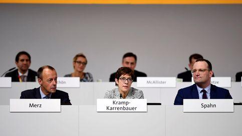 La CDU elige como presidenta a la centrista Kramp-Karrenbauer, la favorita de Merkel