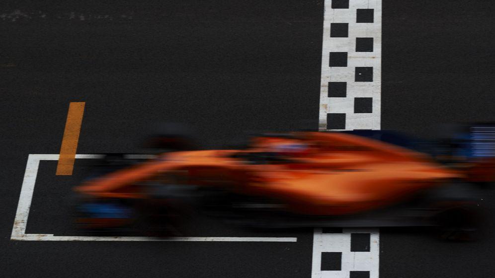 Foto: Fernando Alonso entró por primera vez en la temporada en la Q3. (EFE)