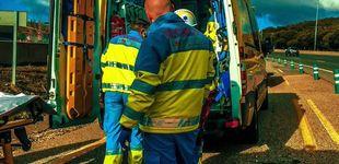 Post de Muere un ciclista atropellado por una furgoneta en la M-607 de Madrid
