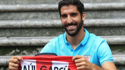 El Athletic presenta a Raúl García, pero quedará en la historia del Atlético